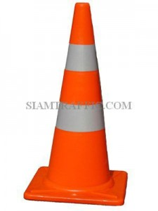 MM Traffic Cone 70 cm. with Reflective Sticker