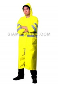 Traffic Rain Coat A Yellow