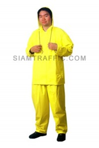 Reflective Rain Coat C Yellow