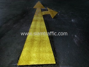 Reflective Glass Bead Road Marking Bangkok Insurance