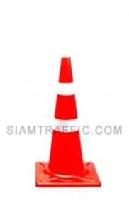 Traffic Cone 80 Cm F Style Reflective Sheeting