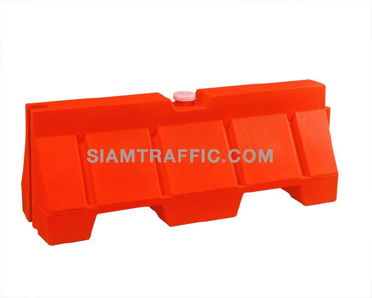 Rubber Water Barrier : Water barrier road plastic portable