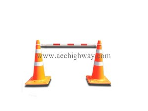 Barricade for traffic cone