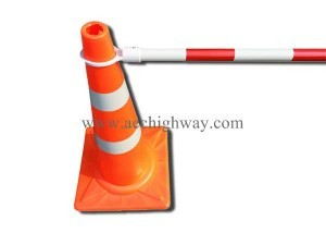 Barrier for traffic cone