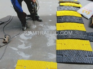 road hump at Siriraj hospital