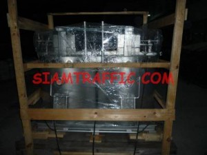 The packing of thermoplastic road marking machines